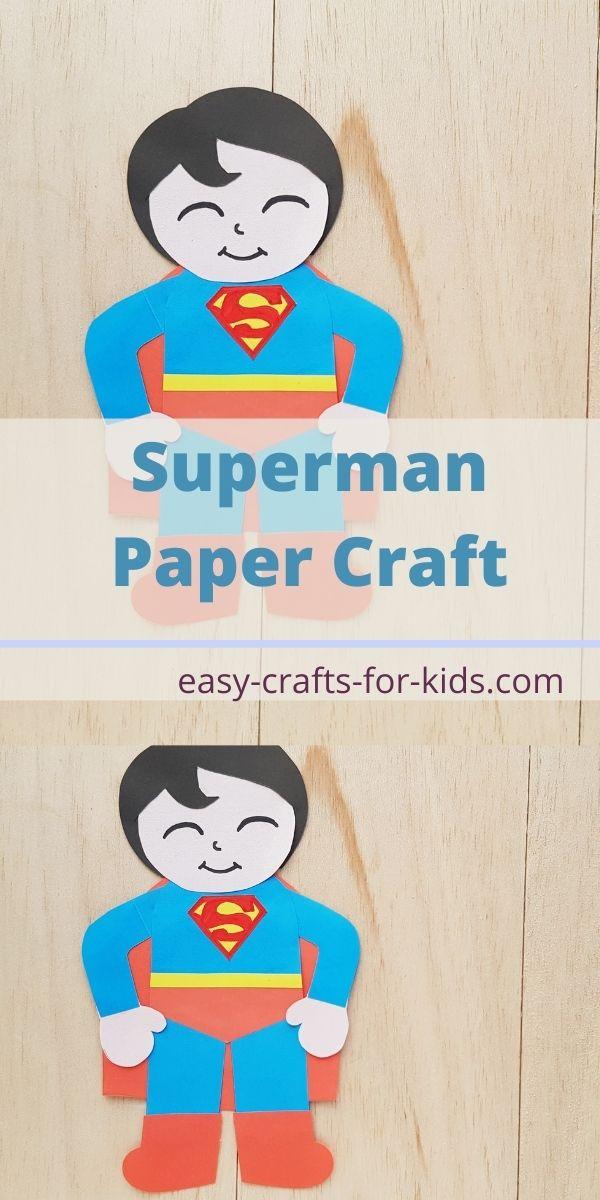 Superman Paper Craft