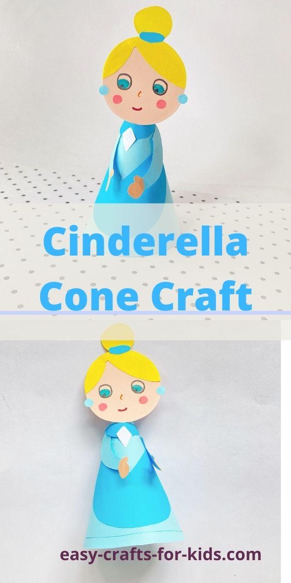 Cinderella Paper Cone Craft