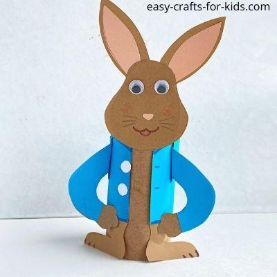 Easy Peter Rabbit Craft