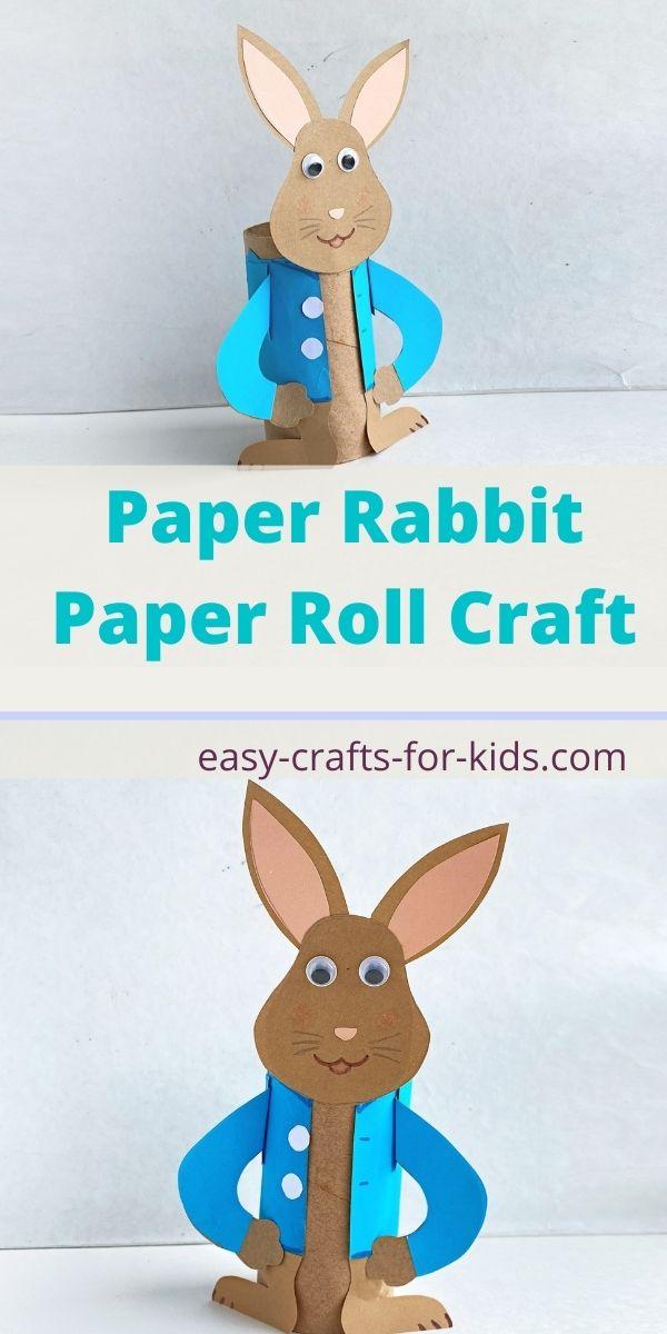 Peter Rabbit Toilet Paper Roll Craft