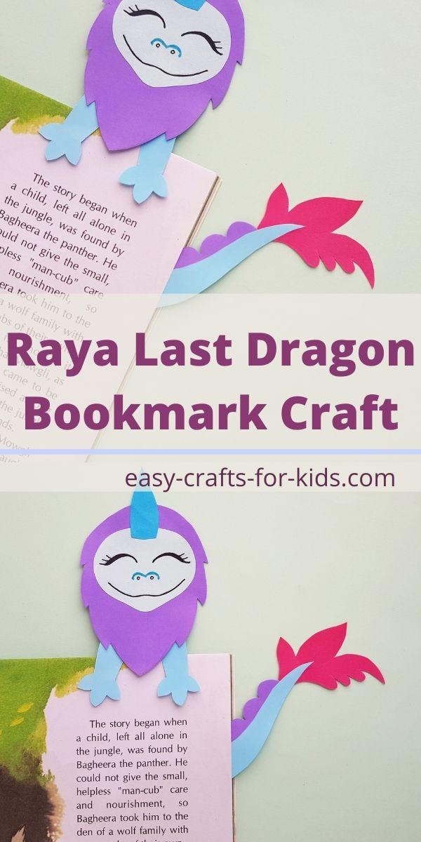 Raya The Last Dragon Bookmark