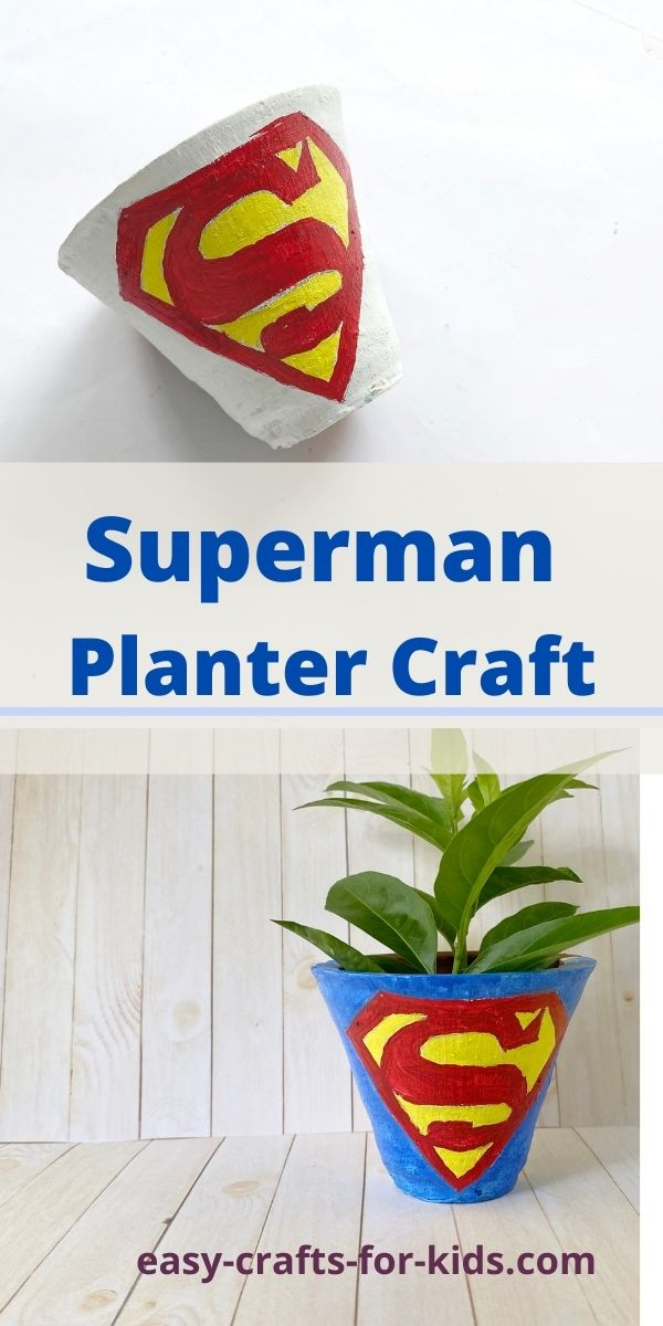 Superman Planter Craft