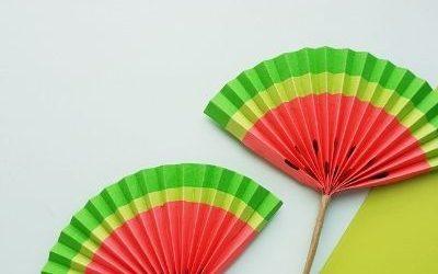 watermelon paper craft