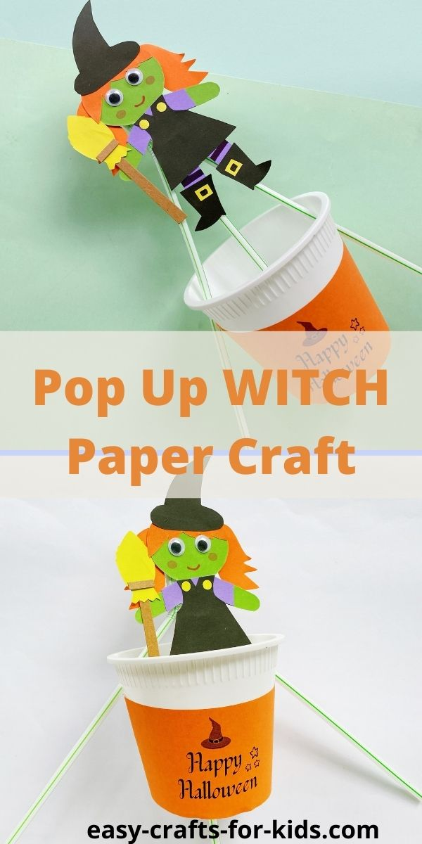 Flying Witch Craft for Kids