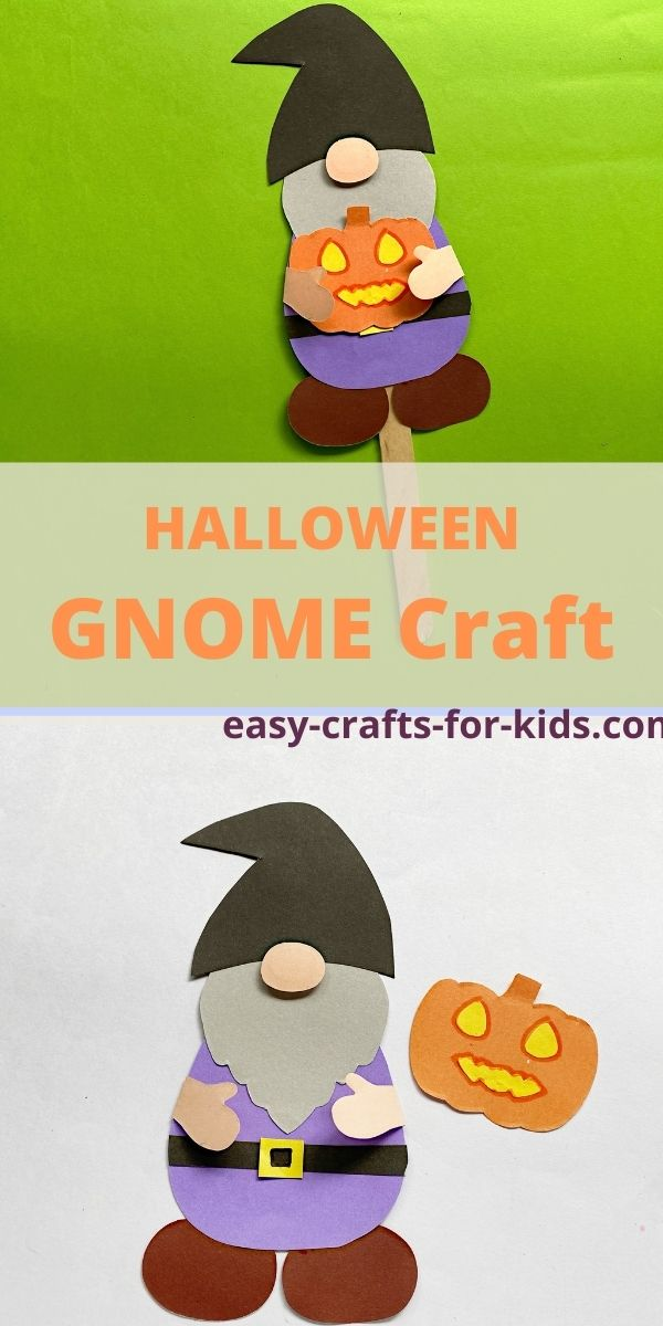 Halloween Gnome Craft for Kids