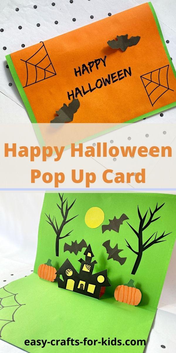 Happy Halloween Pop Up Card
