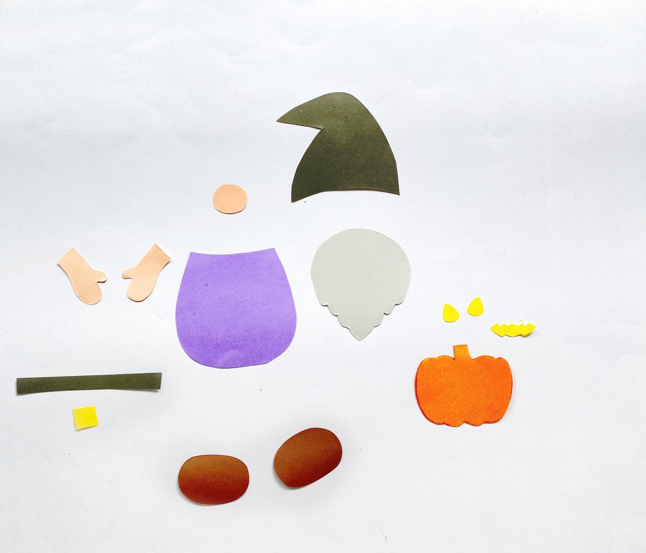 Halloween gnome craft supplies
