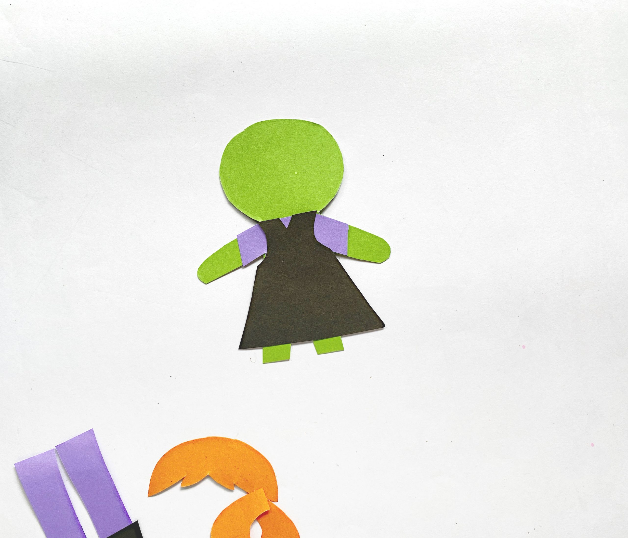 how to make a paper witch