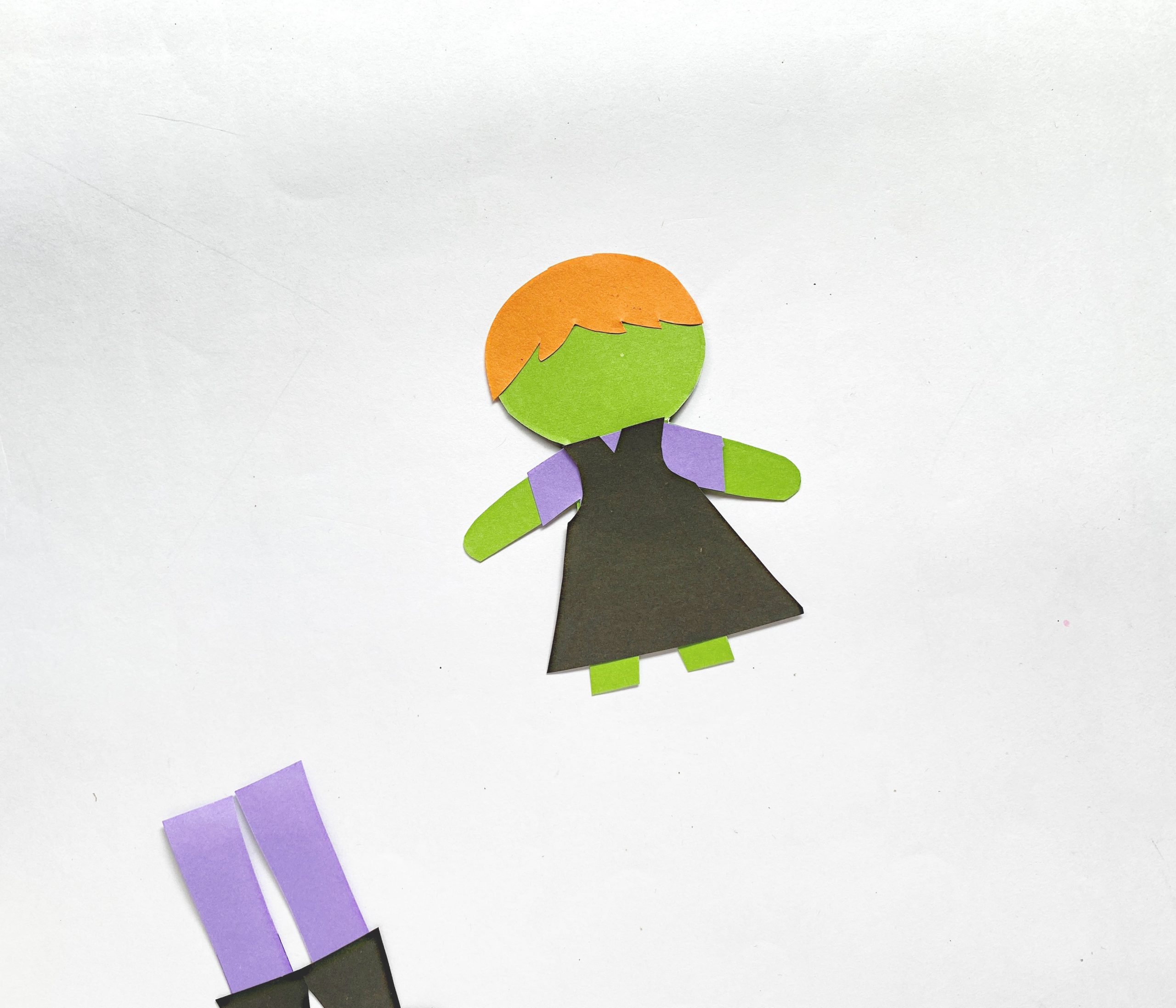 halloween witch craft for kids