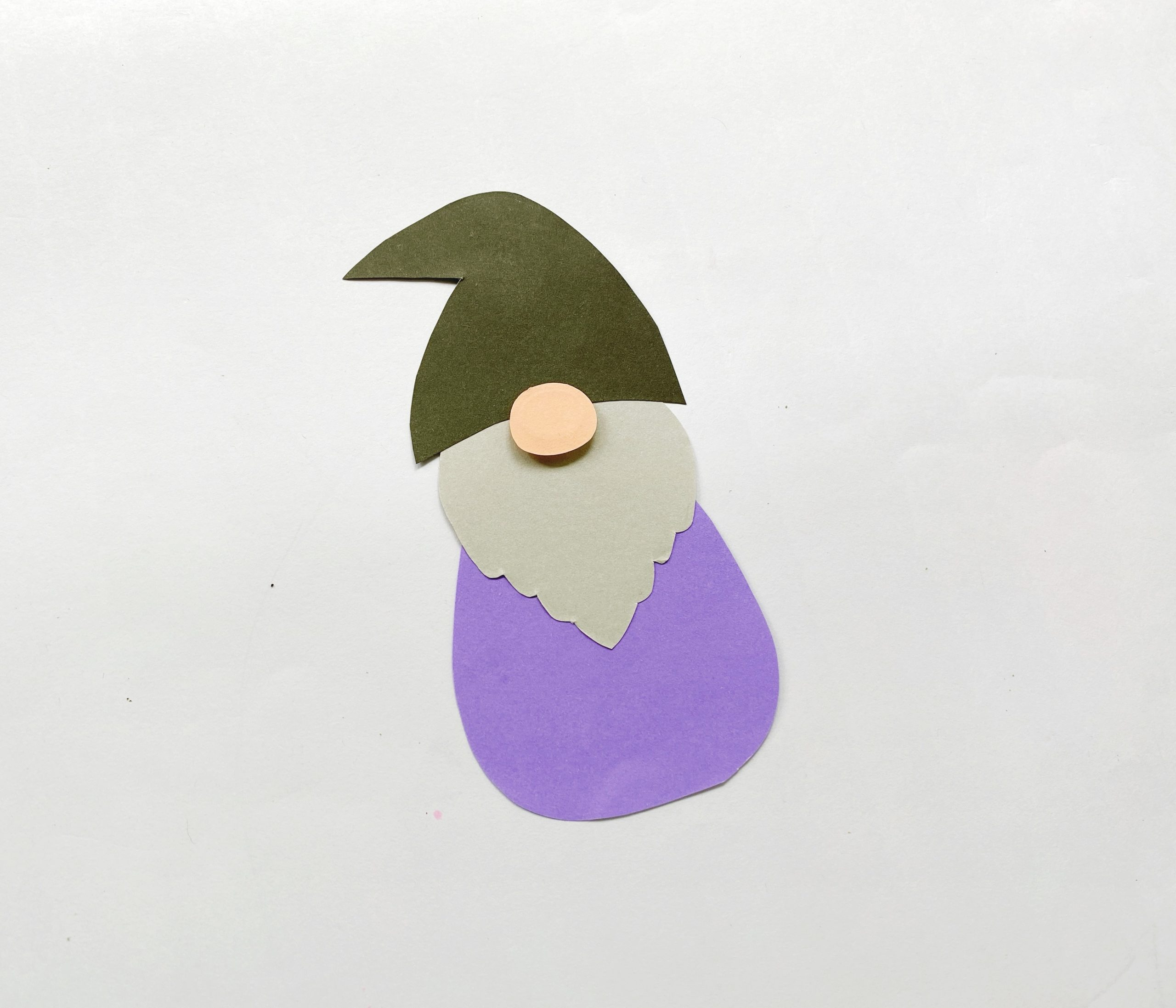 paper gnome for Halloween