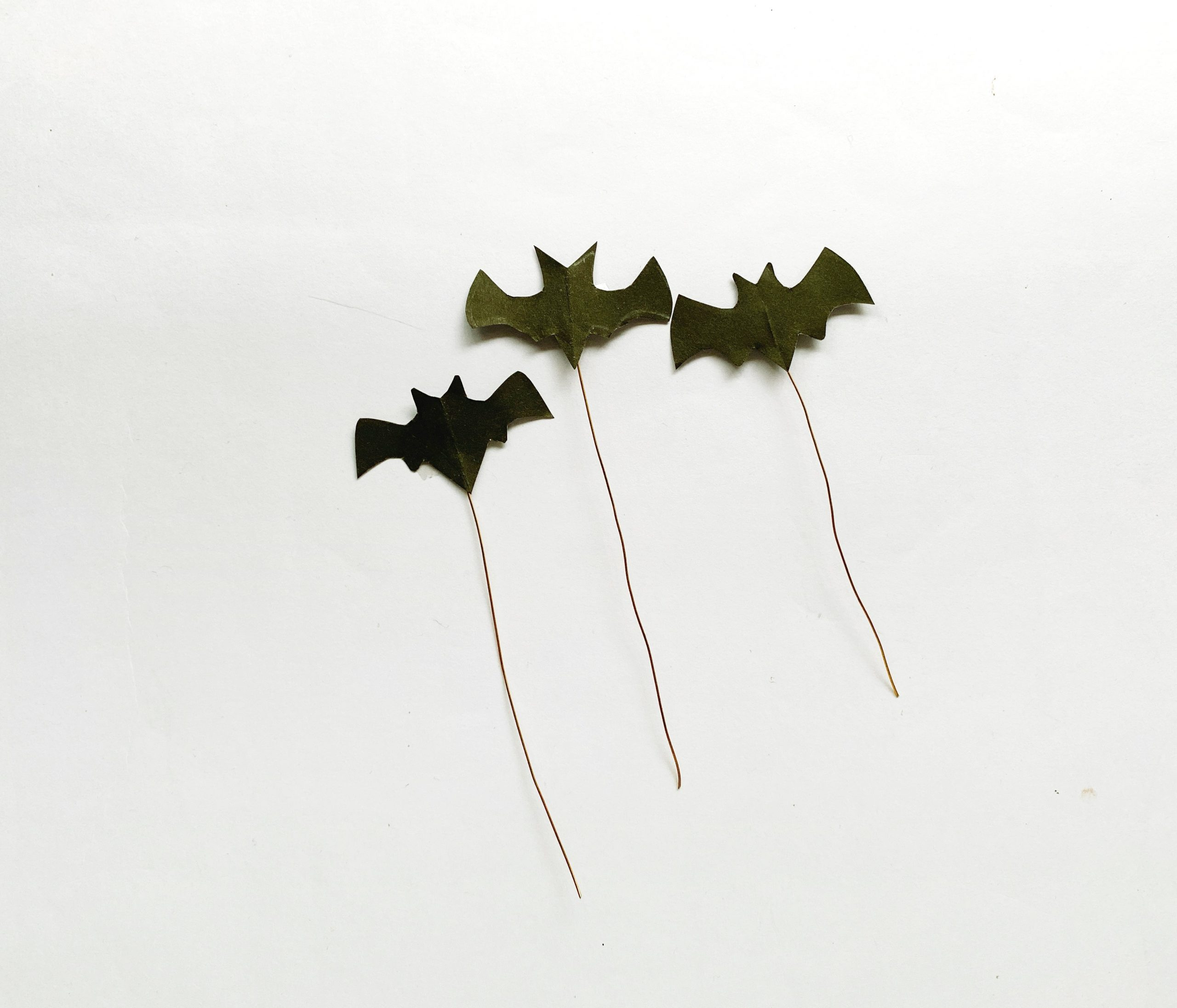 bats for haunted house craft