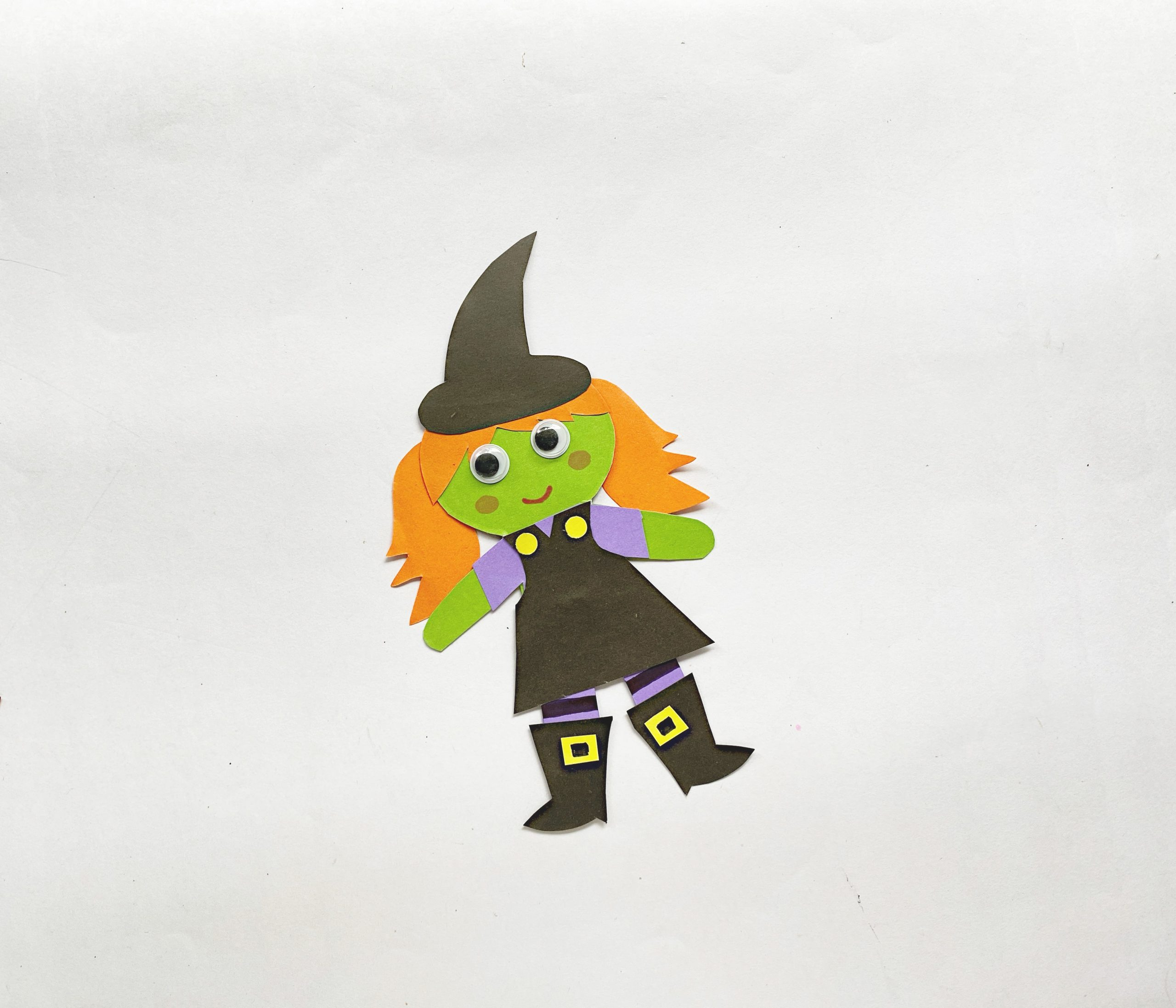 how to make a halloween witch craft