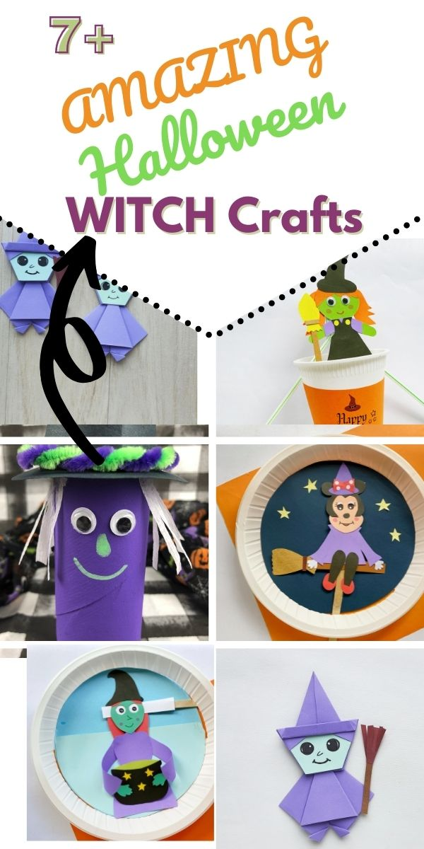 Halloween Witch Crafts for Kids