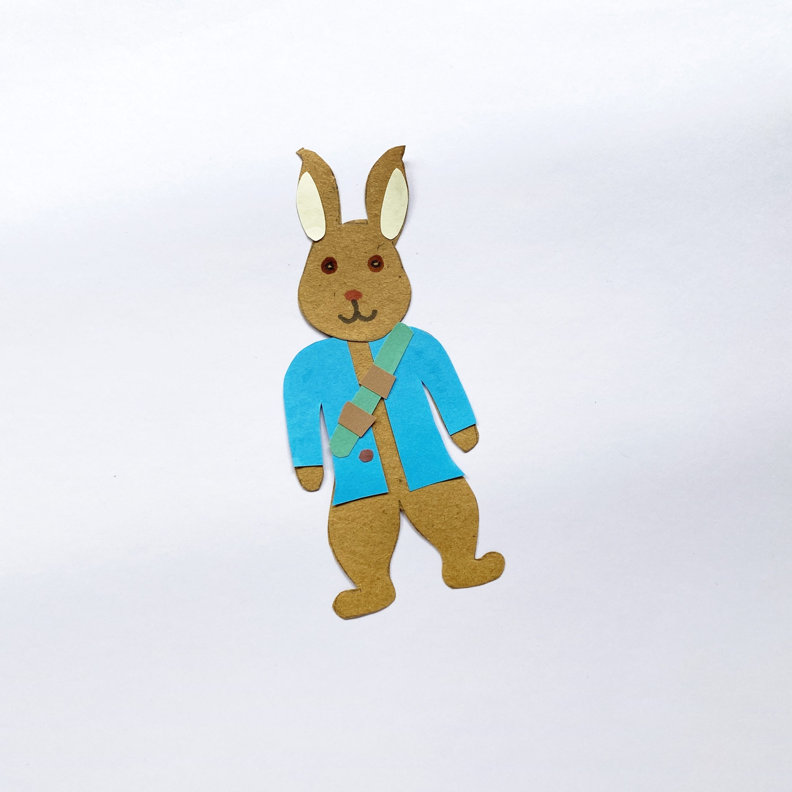 how to make a Peter Rabbit puppet