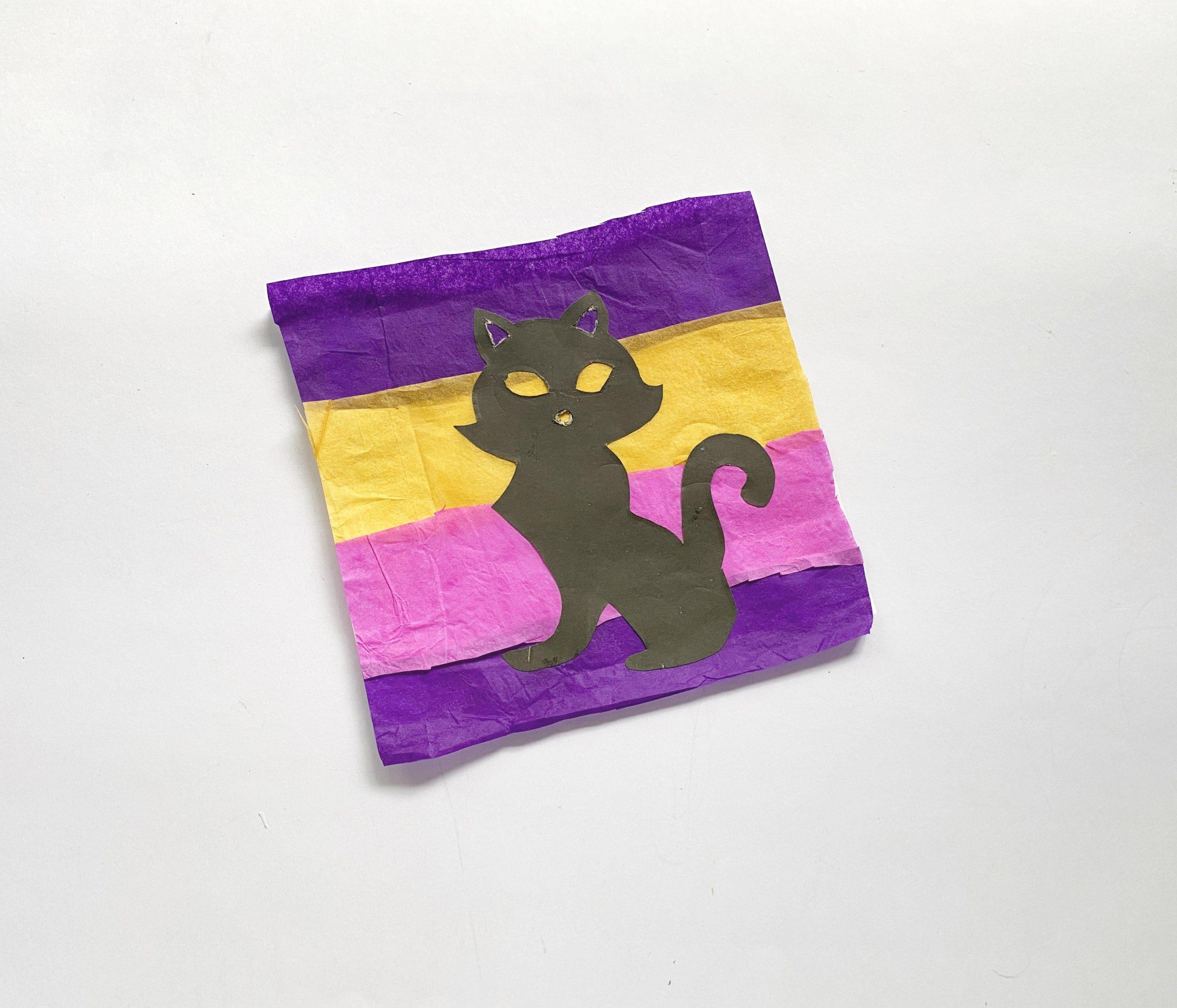 lantern cat craft
