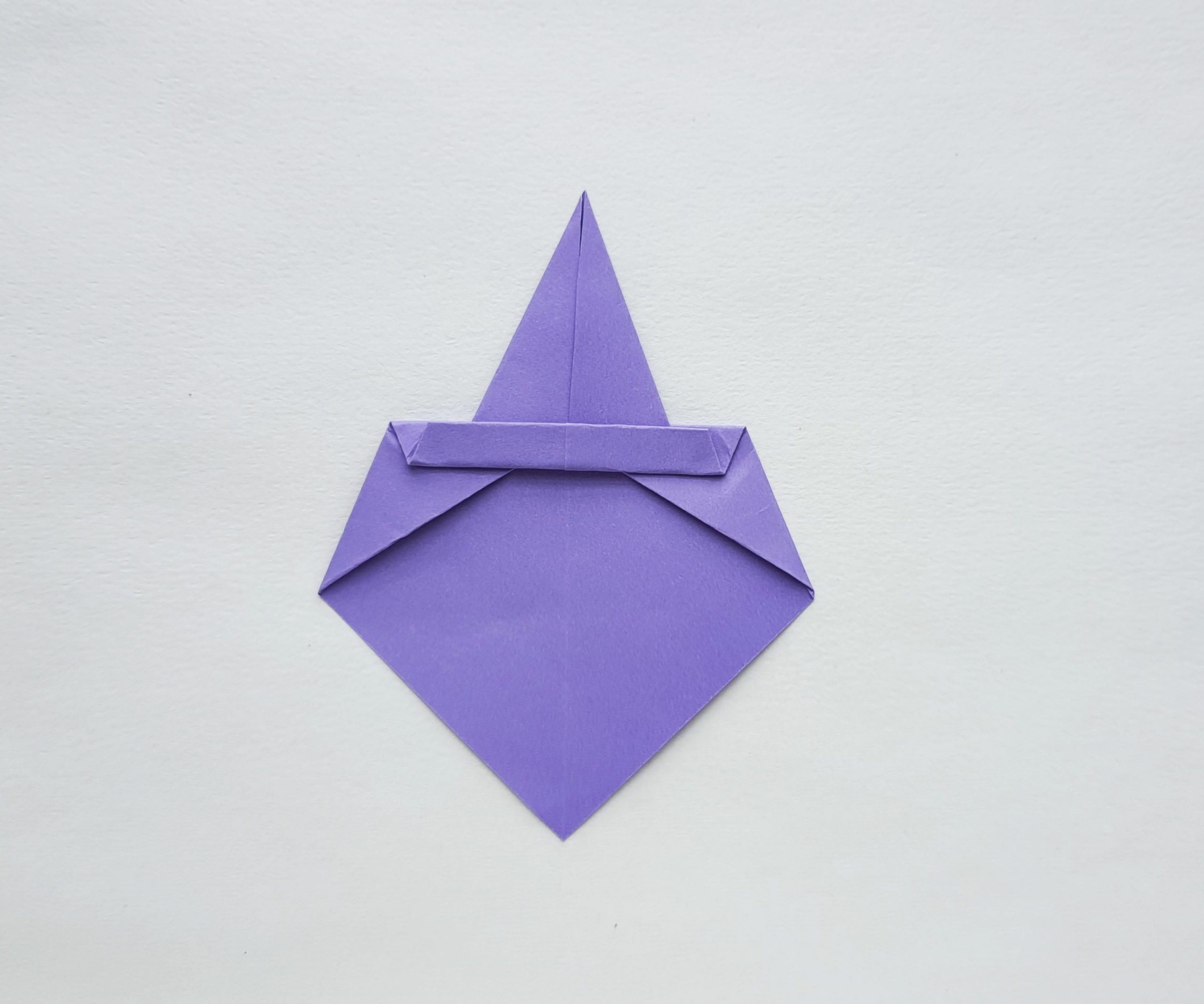 witch hat origami