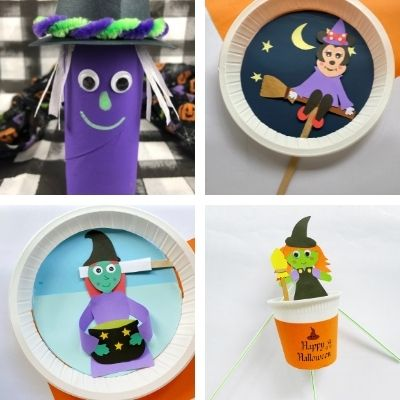 easy witch crafts for children