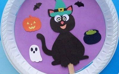 Paper Cat Witch Craft