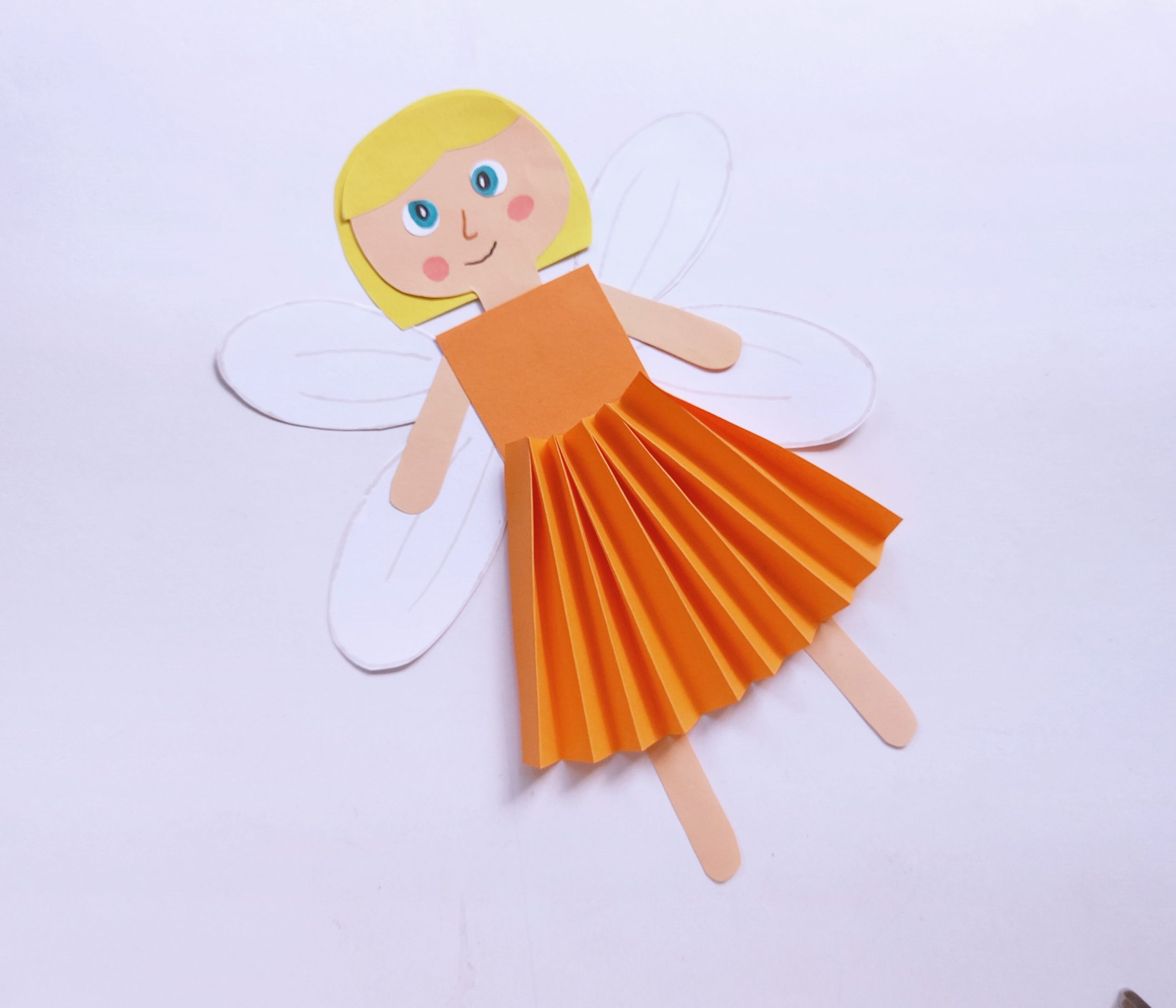 fairy fall craft for girls