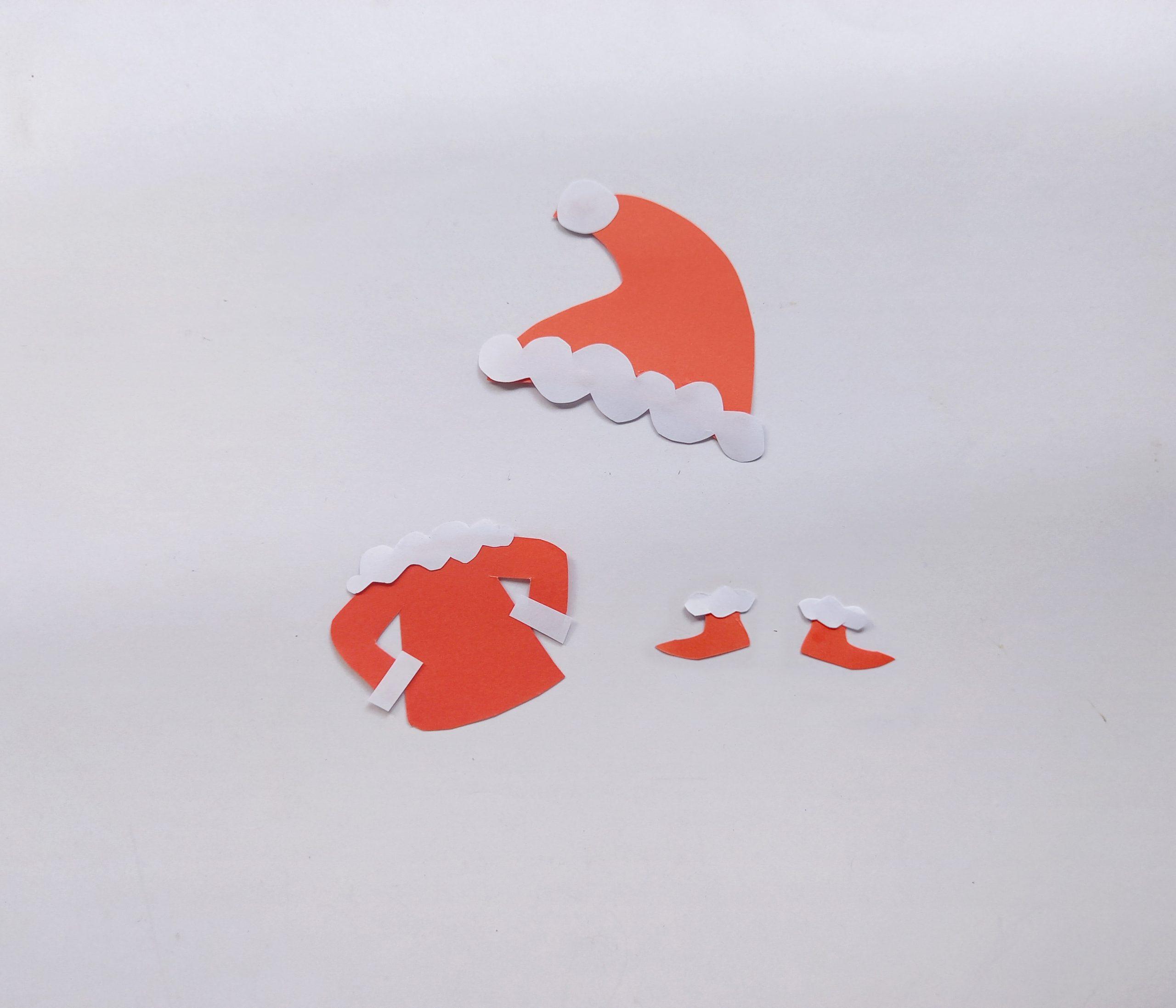 paper grinch craft process