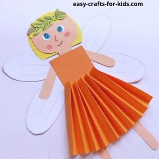 fall fairy craft for kids